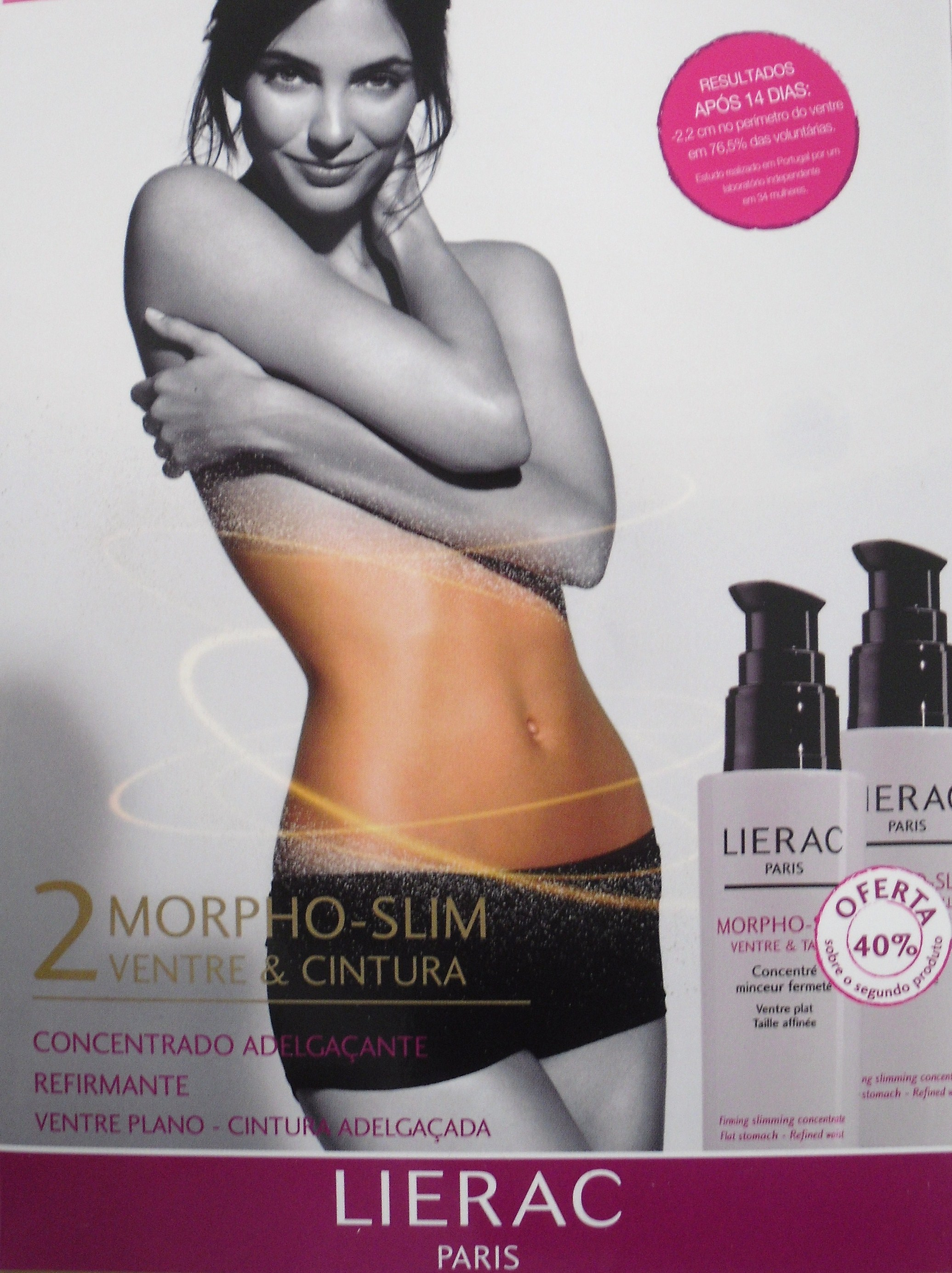 LIERAC CORPO MORPHOSLIM VENTRE 100 ML DUO