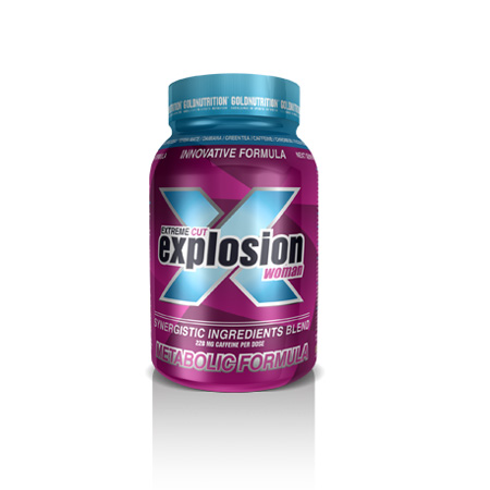 GOLD NUTRITION EXTREME CUT EXPLOSION WOMAN X 120 CAPSULAS