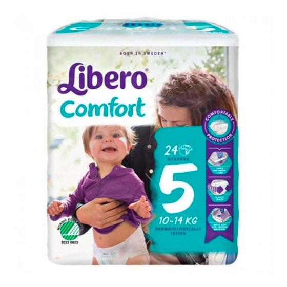 LIBERO COMFORT 5 FRALDA 10-14KG Pack 8 X 24