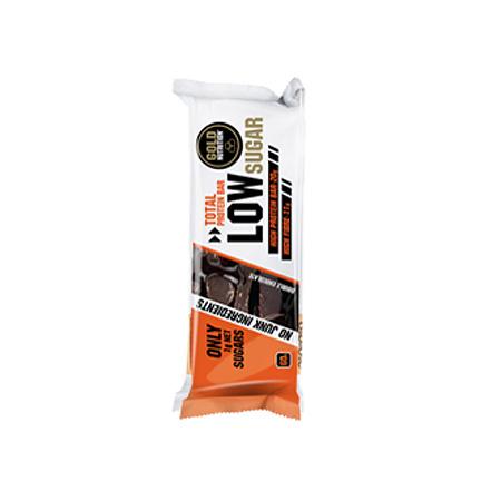 Gold Nutrition Protein Bar Low Sugar Bolacha Com Pepitas De Chocolate