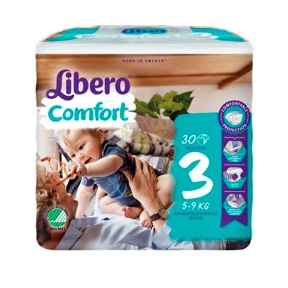 LIBERO COMFORT 3 FRALDA 5-9KG PACK 6 X 30