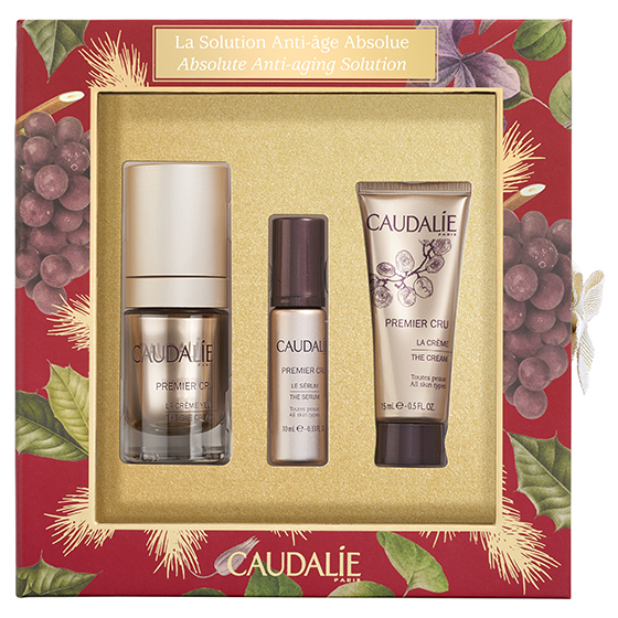 CAUDALIE COFFRET PREMIER CRU EYE 15ML + SERUM 10ML + MINI LA CREME 15ML