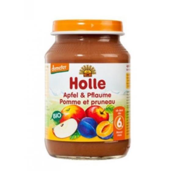 HOLLE BIO PURE MACA AMEIXA +6M BOIAO 190 G
