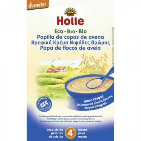 HOLLE PAPAS BIO FLOCOS AVEIA +4M 250 G