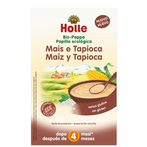 HOLLE PAPAS BIO PAPA MILHO TAPIOCA +4M 250 G