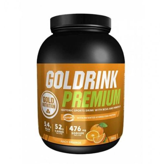 GOLD NUTRITION GOLDRINK PREMIUM PO LARANJA 750G