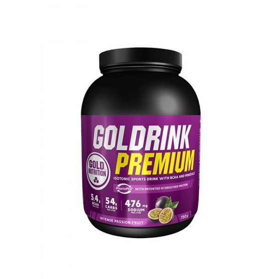 GOLD NUTRITION GOLD DRINK PREMIUM PO MARACUJA 750G