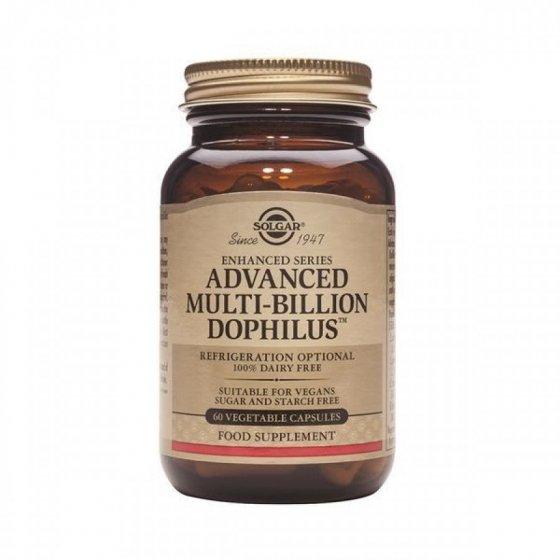 ADVANDED MULTIBILLION DOPHILUS SOLGAR 120 CAPSULAS