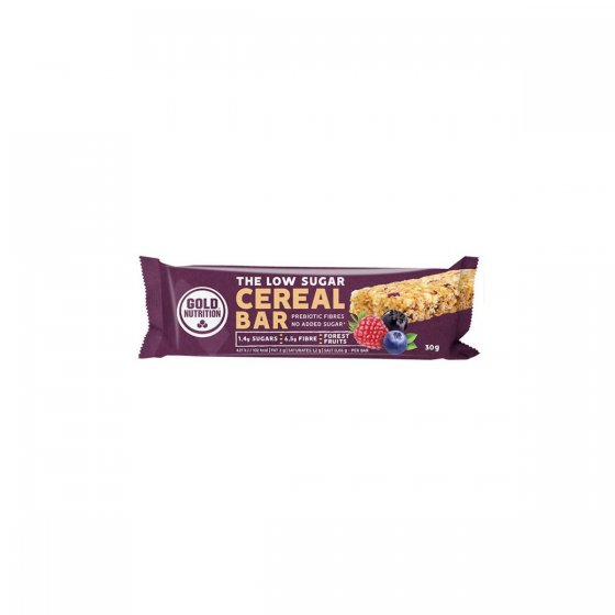 GOLD NUTRITION LOW SUGAR CEREAL BAR FRUTOS SILVESTRES