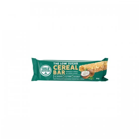GOLD NUTRITION LOW SUGAR CEREAL BAR COCO