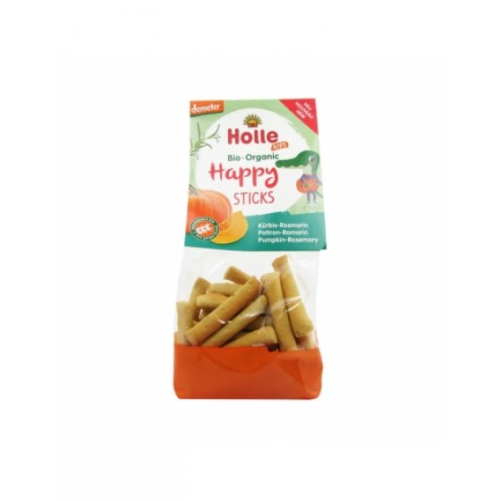 HOLLE BIO HAPPY STICKS ABOBORA ALECRIM 100G