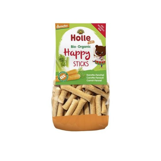 HOLLE BIO HAPPY STICKS CENOURA FUNCHO 100G