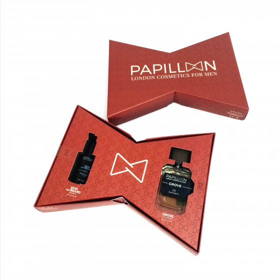 PAPILLON PACK CHRISTMAS SERUM 30ML E GROVE 50ML