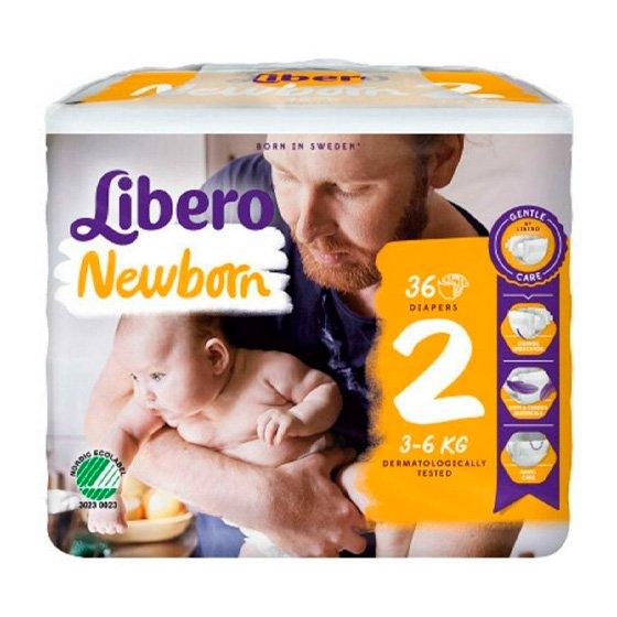 LIBERO NEWBON FRALD 3/6 KG PACK 6 X 36