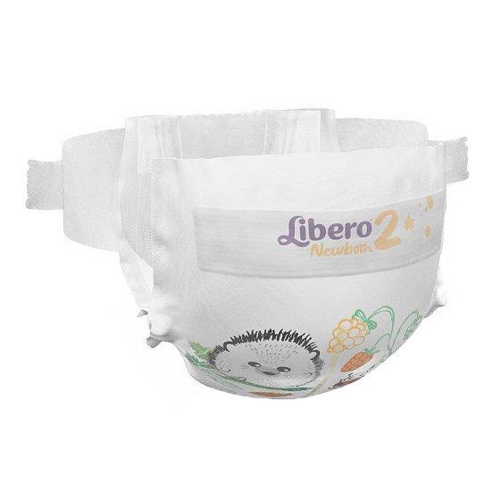LIBERO NEWBORN 2 FRALDA 3/6 KG PACK 6 X 36