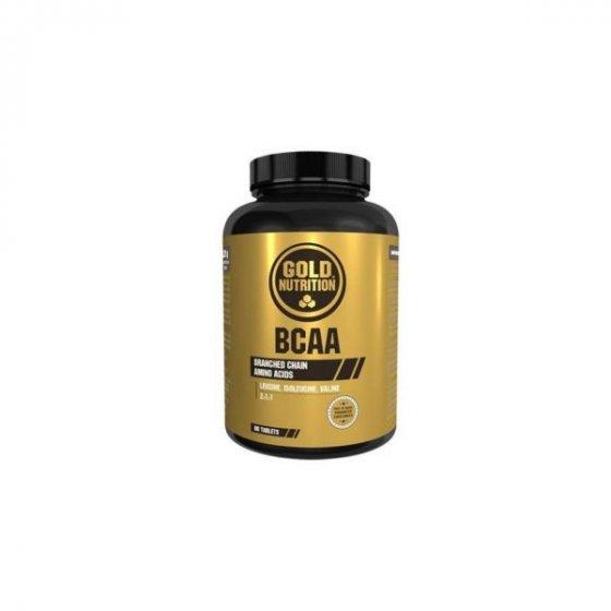 GOLD NUTRITION BCAA'S 60 CÁPSULAS