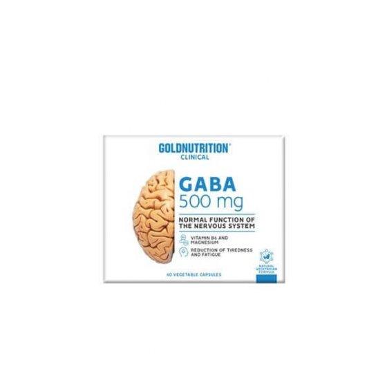 GOLD NUTRITION GABA 60 CÁPSULAS