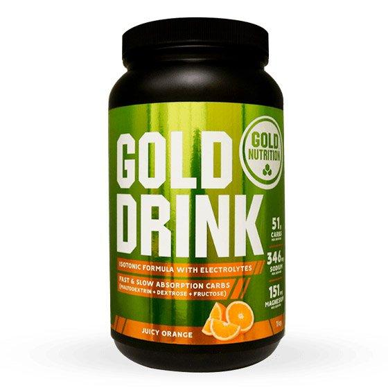GOLD NUTRITION GOLD DRINK PO LARANJA 1KG