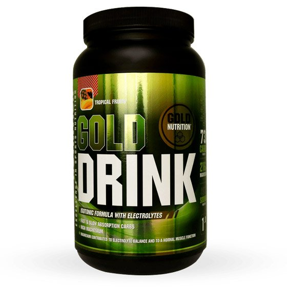GOLD NUTRITION GOLD DRINK PO FRUTOS TROPICAIS 1KG