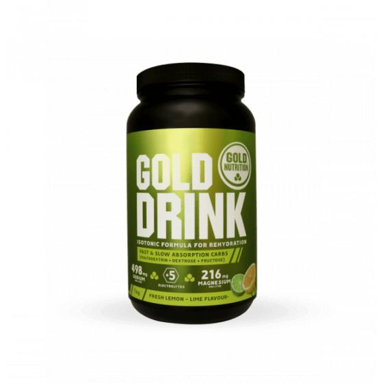 GOLD NUTRITION GOLD DRINK 1KG LIMÃO & LIMA