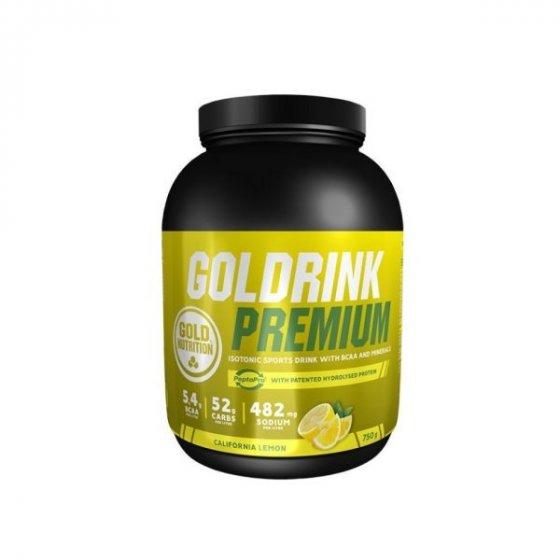 GOLD NUTRITION GOLD DRINK PREMIUM 750G LIMÃO