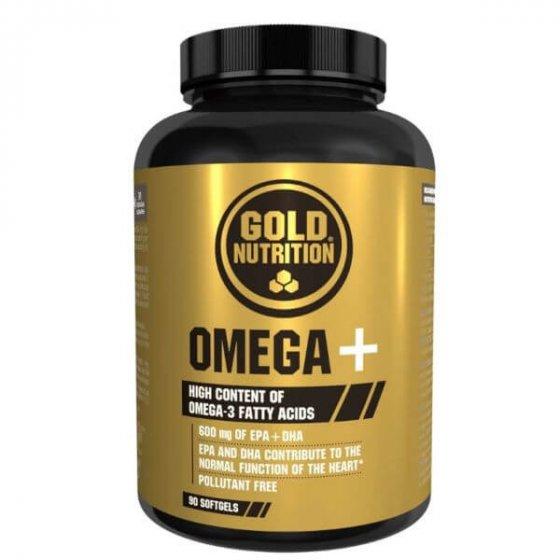 GOLD NUTRITION OMEGA+ 90 CÁPSULAS