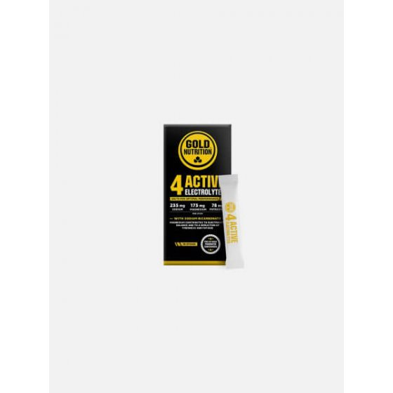 GOLD NUTRITION 4ACTIVE ELECTROLYTES 10 STICKS DE 3G