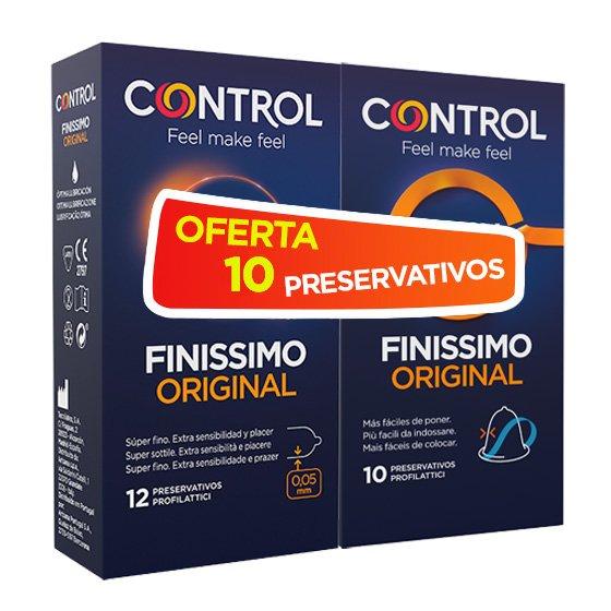 Control Finissimo Original 12 Unidades + Oferta Easy Way De 10 Unidades