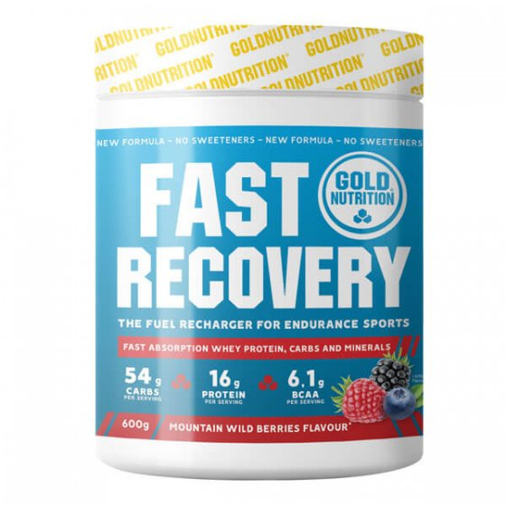 GOLD NUTRITION FAST RECOVERY FR SILVESTRES 600 GR