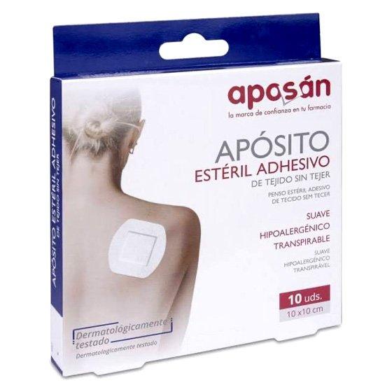 APOSAN PENSO ESTERIL ADESIVO X10 UNIDADES 10X10CM