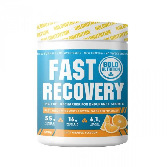 GOLD NUTRITION FAST RECOVERY LARANJA 600 GR