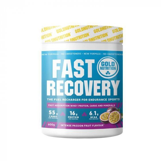 GOLD NUTRITION FAST RECOVERY MARACUJA 600GR