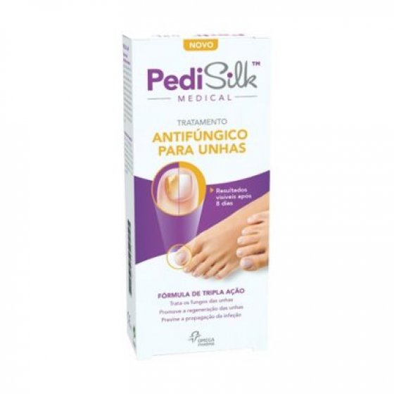 PEDISILK MEDICAL TUBO COM APLICADOR FUNGOS UNHAS 7ML