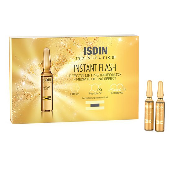 ISDIN ISDINCEUTICS INSTANT FLASH 5 AMPOLA 2ML