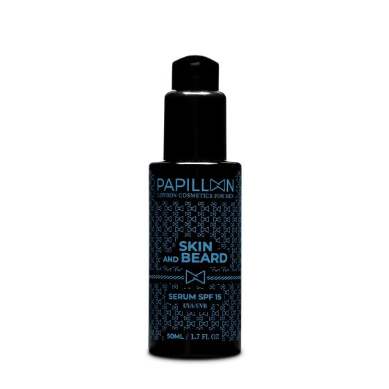 Papillon Skin & Beard Sérum SPF15 50ml