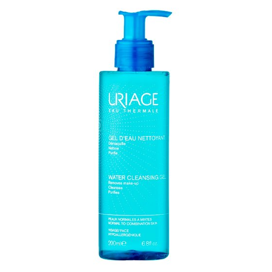 URIAGE GEL D'EAU DESMAQUILHANTE 200ML