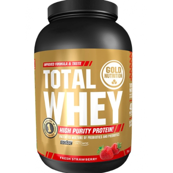 GOLD NUTRITION TOTAL WHEY PO MORANG 1KG