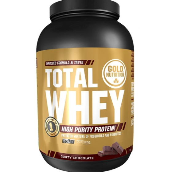 GOLD NUTRITION TOTAL WHEY CHOCOLATE 1 KG