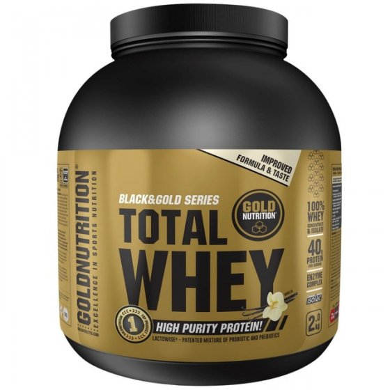 GOLD NUTRITION TOTAL WHEY BAUNILHA 1KG
