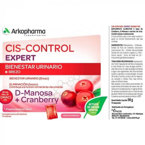 ARKOPHARMA CIS-CONTROL EXPERT PO SAQUETAS X 14