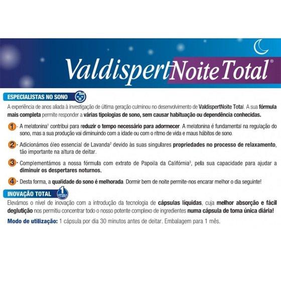 VALDISPERT NOITE TOTAL CAPSULAS X 30