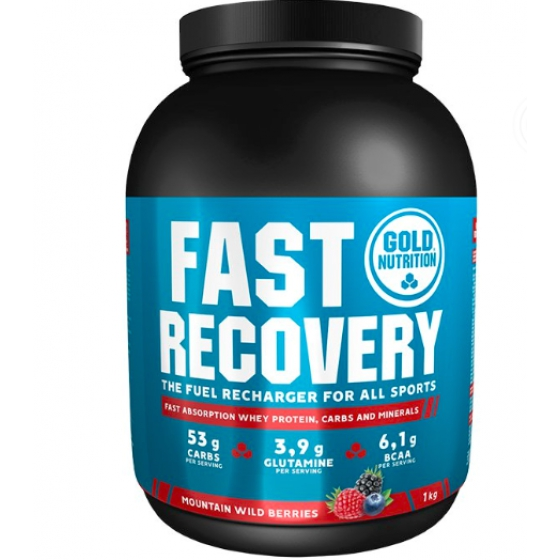 GOLD NUTRITION FAST RECOVERY FRUTOS SILVESTRES 1kG