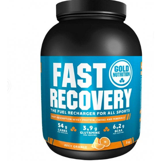 GOLD NUTRITION FAST RECOVERY LARANJA 1KG