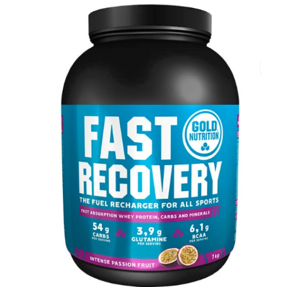 GOLD NUTRITION FAST RECOVERY MARACUJA 1KG