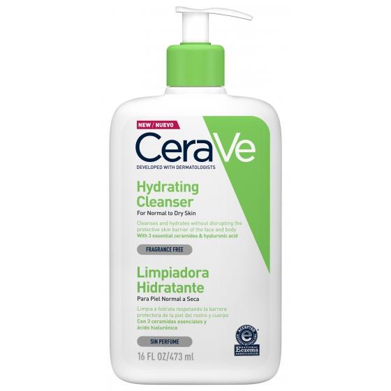 CERAVE CLEANSER HYDRATION LIMPEZA ROSTO/CORPO 473ML