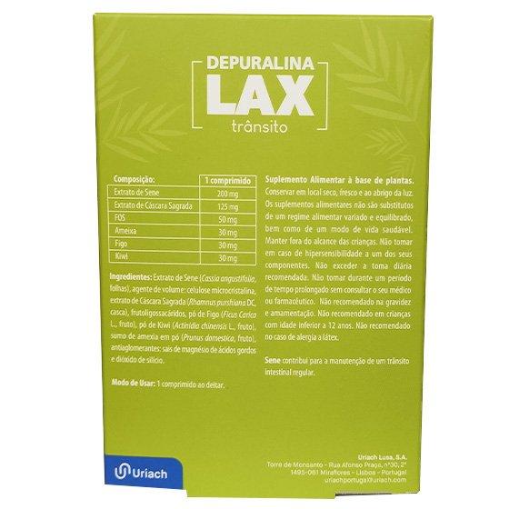 Depuralina LAX da Noite para o Dia 30 Comprimidos