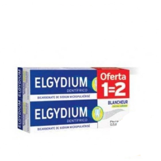 ELGYDIUM PASTA DENTIFRICA C LEMON 75ML DUO