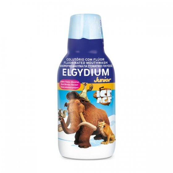 ELGYDIUM JUNIOR COLUTORIO FLUOR IDADE GELO 500ML