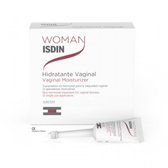 WOMAN ISDIN HIDRATANTE VAGINAL 6ML X 12