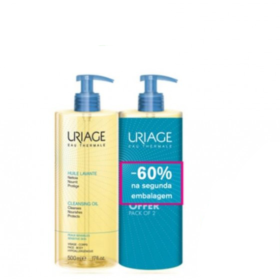 URIAGE OLEO LAVANTE 500ML DUO